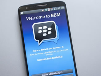 Blackberry - Blackberry Messenger